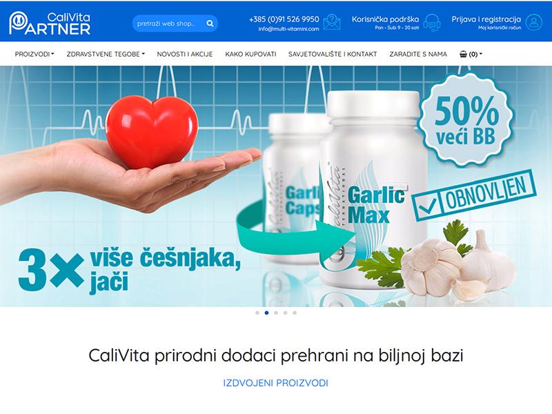 CaliVita prirodni dodaci prehrani