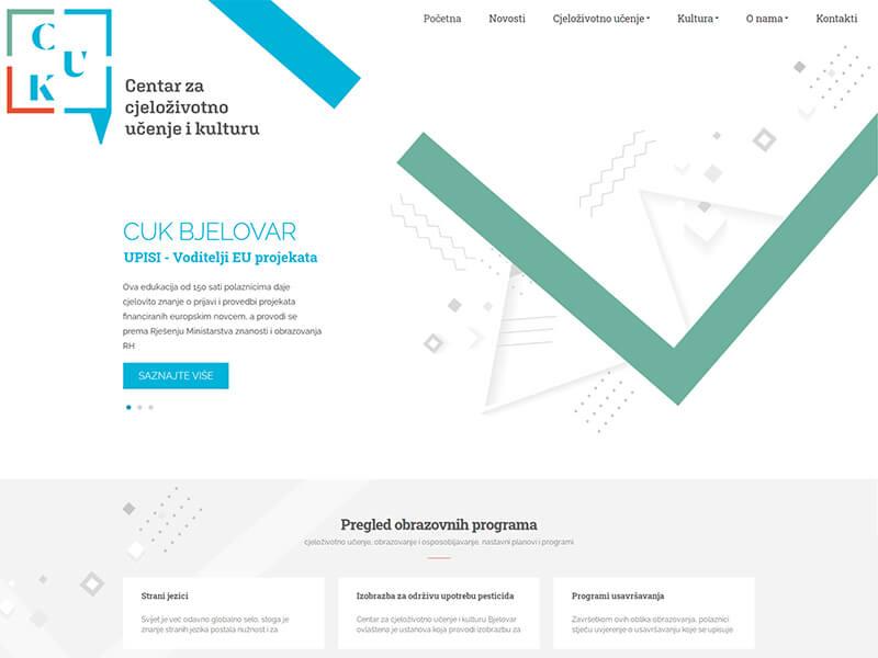 CUK Bjelovar - Centar za cjeloživotno učenje i kulturu