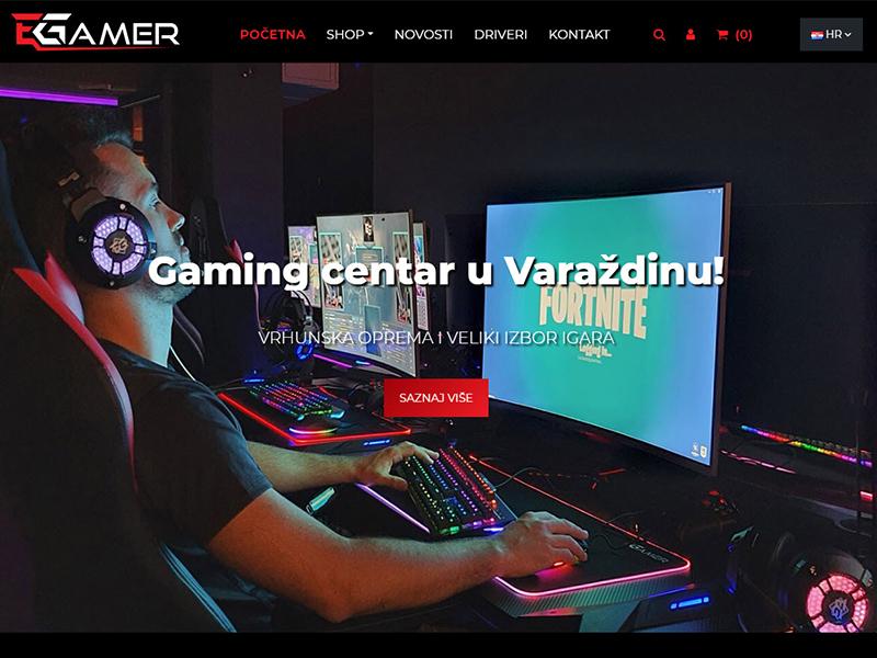 EGamer - Webshop i Gaming centar u Varaždinu