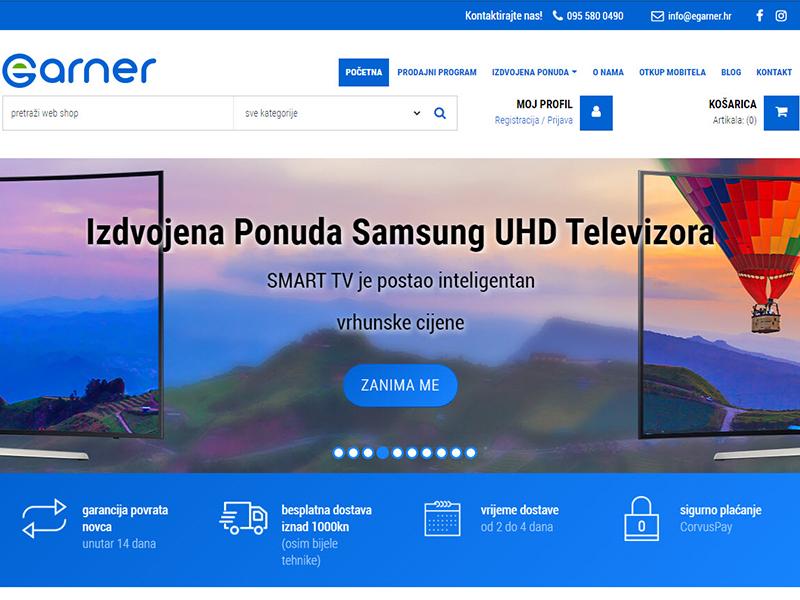 eGarner - Prodaja elektronike i informatičke opreme