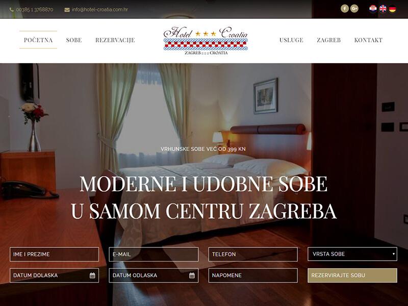 Hotel Croatia Zagreb - hotel sa tri zvjezdice u samom centru grada