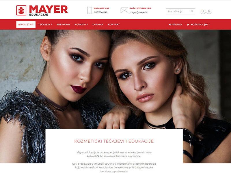 Mayer - kozmetički tečajevi i edukacije