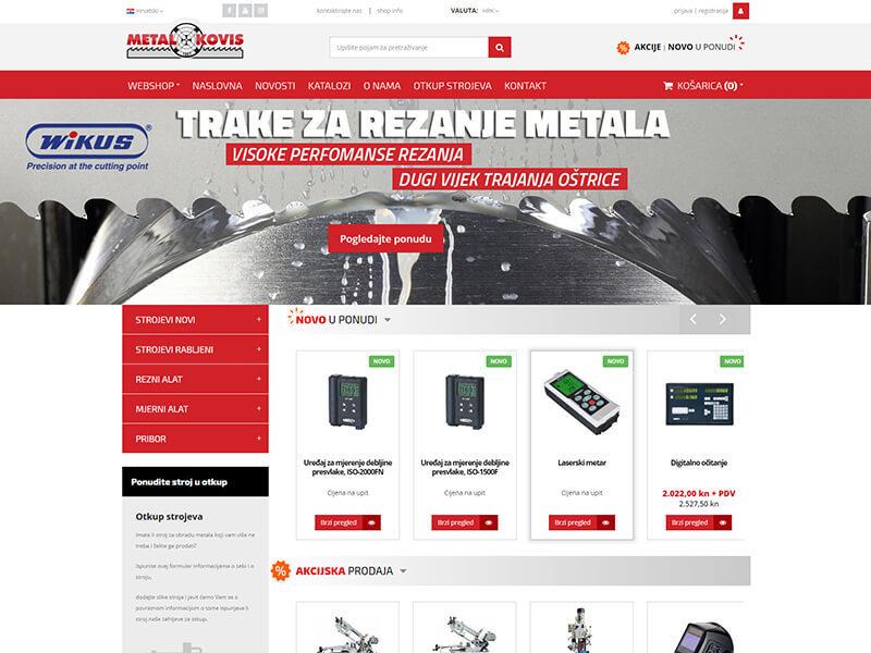 Metal-Kovis - Prodaja novih i rabljenih strojeva i alata za obradu metala