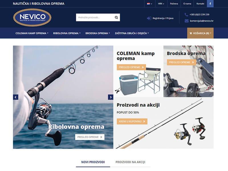 Nevico - Nautička i ribolovna oprema
