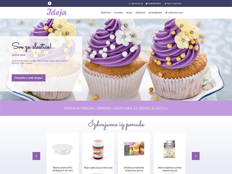 Slatka ideja - Prodaja dekoracija i ukrasa za torte, kolače i slastice