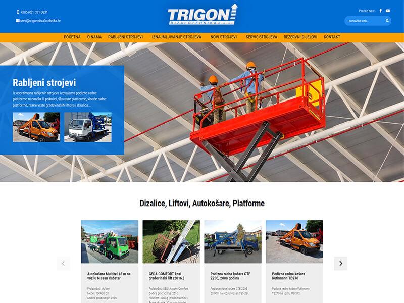 Trigon dizalotehnika