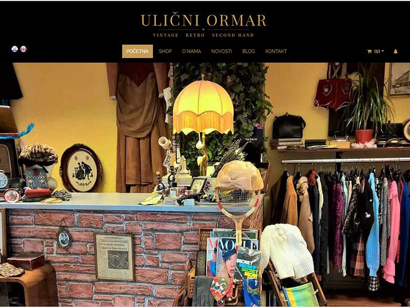 Ulični ormar - Vintage i retro second hand dućan